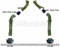 Впуск Greddy Suction Kit Type-2 long для Nissan GTR R35